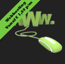 webhosting vanaf 1,99 per maand